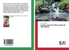 Portada del libro de Studio critico di A River Sutra di Gita Mehta