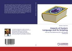 Buchcover von Impacts of Eastern Language and Its Scripting