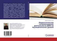Bookcover of Педагогическое сопровождение деятельности ДОО на муниципальном уровне