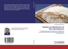 Capa do livro de Studies on Resistance of Rice Germplasms