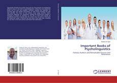 Обложка Important Books of Psycholinguistics