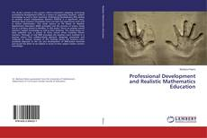Capa do livro de Professional Development and Realistic Mathematics Education