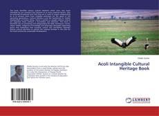 Buchcover von Acoli Intangible Cultural Heritage Book