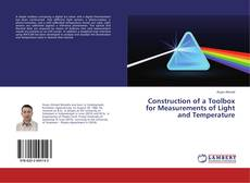 Buchcover von Construction of a Toolbox for Measurements of Light and Temperature
