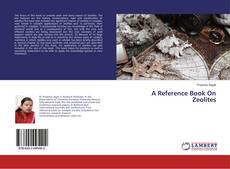 Couverture de A Reference Book On Zeolites