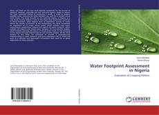 Couverture de Water Footprint Assessment in Nigeria