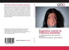 Buchcover von Argentina cuenta la violencia machista
