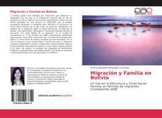 Capa do livro de Migración y Familia en Bolivia