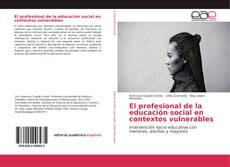 Bookcover of El profesional de la educación social en contextos vulnerables