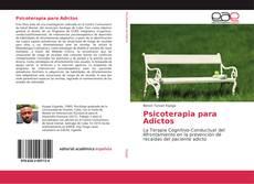 Capa do livro de Psicoterapia para Adictos