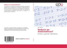 Buchcover von Seducir en matemáticas?