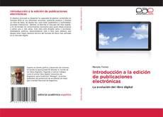 Bookcover of Introducción a la edición de publicaciones electrónicas
