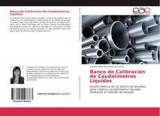 Capa do livro de Banco de Calibración de Caudalímetros Líquidos