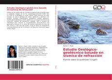 Buchcover von Estudio Geológico-geotécnico basado en sísmica de refracción