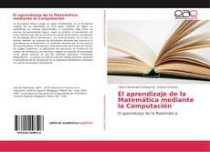 Capa do livro de El aprendizaje de la Matemática mediante la Computación