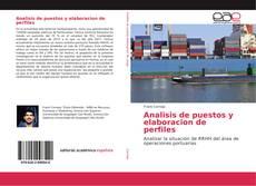 Analisis de puestos y elaboracion de perfiles kitap kapağı