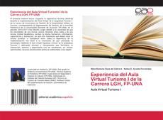 Borítókép a  Experiencia del Aula Virtual Turismo I de la Carrera LGH, FP-UNA - hoz