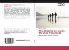 Bookcover of Una filosofía del amor: Maurice Nédoncelle