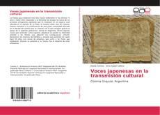 Bookcover of Voces japonesas en la transmisión cultural