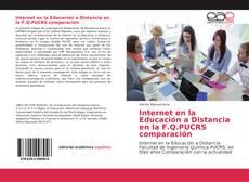 Portada del libro de Internet en la Educación a Distancia en la F.Q.PUCRS comparación