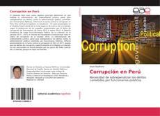 Portada del libro de Corrupción en Perú
