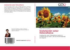 Portada del libro de Instalación solar fotovoltaica
