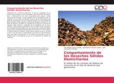 Portada del libro de Comportamiento de los Desechos Sólidos Domiciliarios