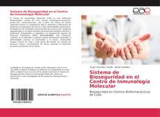 Portada del libro de Sistema de Bioseguridad en el Centro de Inmunología Molecular