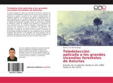 Capa do livro de Teledetección aplicada a los grandes incendios forestales de Asturias