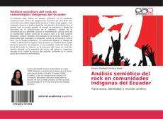 Capa do livro de Análisis semiótico del rock en comunidades indígenas del Ecuador