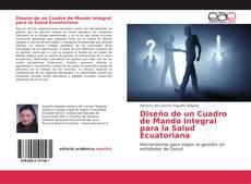 Buchcover von Diseño de un Cuadro de Mando Integral para la Salud Ecuatoriana