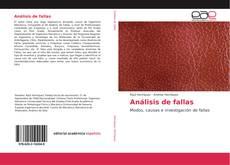 Buchcover von Análisis de fallas