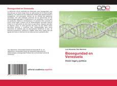 Portada del libro de Bioseguridad en Venezuela