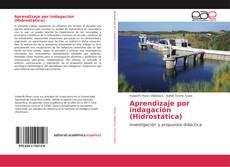 Capa do livro de Aprendizaje por indagación (Hidrostática)