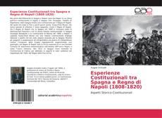 Portada del libro de Esperienze Costituzionali tra Spagna e Regno di Napoli (1808-1820)