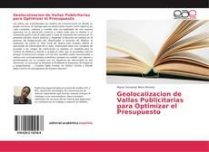 Bookcover of Geolocalizacion de Vallas Publicitarias para Optimizar el Presupuesto