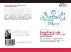 Buchcover von Procedimiento de Gestión de los Costos de Calidad