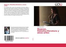 Capa do livro de Mujeres, filosofía,literatura y otras artes