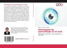 Bookcover of Estrategias de aprendizaje en el aula