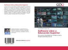 Portada del libro de Software Libre y Educación Superior