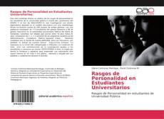 Rasgos de Personalidad en Estudiantes Universitarios的封面