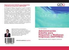 Capa do livro de Administración Esbelta para Pequeñas y Medianas Empresas (AEPYMES)