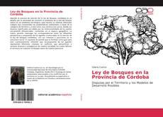 Portada del libro de Ley de Bosques en la Provincia de Córdoba