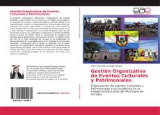 Couverture de Gestión Organizativa de Eventos Culturales y Patrimoniales