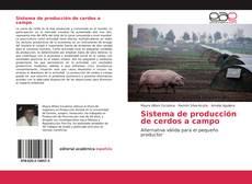 Buchcover von Sistema de producción de cerdos a campo