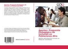 Обложка Aportes: Propuesta Pedagógica de Inclusión en Poblaciones Afro