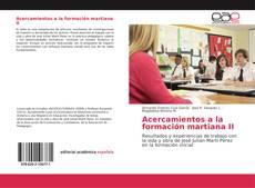 Bookcover of Acercamientos a la formación martiana II