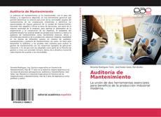 Bookcover of Auditoría de Mantenimiento