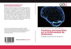 Buchcover von Factores psicosociales en la Enfermedad de Alzheimer