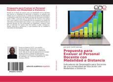 Couverture de Propuesta para Evaluar al Personal Docente con Modalidad a Distancia